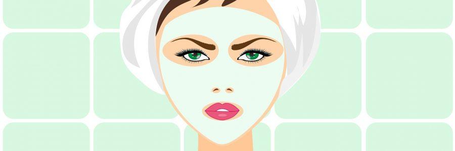 Natuurlijk gezichtsmasker